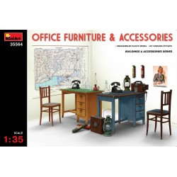 MINIART35564 Office Fourniture & Accessories 1/35