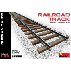 MINIART35565 Railroad Track (Russian Gauge) 1/35