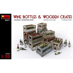 MINIART35571 Wine Bottles & Wooden Crates 1/35