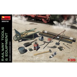 MINIART35572 Railway Tools & Equipment 1/35