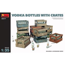 MINIART35577 Vodka Bottles with Crates 1/35