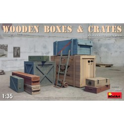 MINIART35581 Wooden Boxes and Crates 1/35