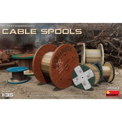 MINIART35583 Cable Spools 1/35