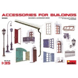 MINIART35585 Accessories for Buildings 1/35