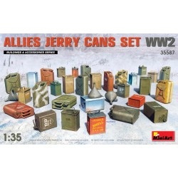 MINIART35587 Allies Jerry Cans Set WW2 1/35