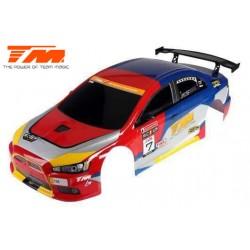 TM507509A-EVX Carrosserie - 1/10 Touring / Drift - 190mm - Peinte - non percée – EVX