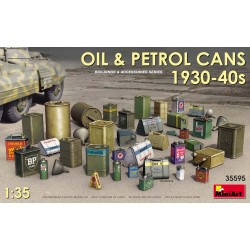 MINIART35595 Oil & Petrol Cans '30s-40s 1/35
