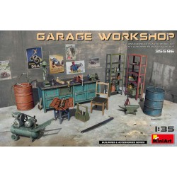 MINIART35596 Garage Workshop 1/35