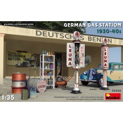 MINIART35598 German Gas Station 1930-40 1/35