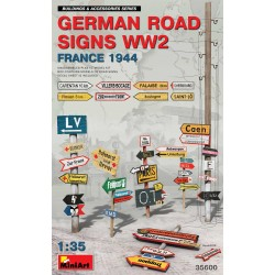 MINIART35600 German Road Signs France '44 1/35