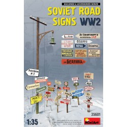MINIART35601 Soviet Road Signs WW2 1/35