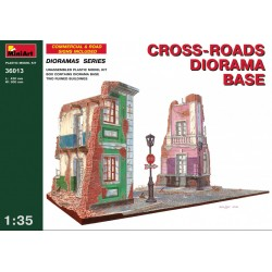 MINIART36013 Diorama CrossRoad Base 1/35