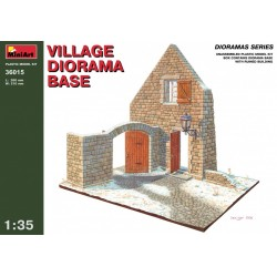 MINIART36015 Diorama Village Base 1/35