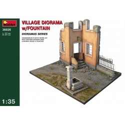 MINIART36028 Village diorama+fontain1/3