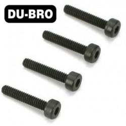 DUB2127 Screws - 3mm x 30 Socket Head Cap Screws (4 pcs per package)