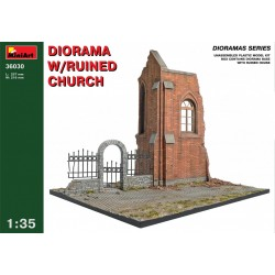 MINIART36030 Dio with Ruined Church 1/35