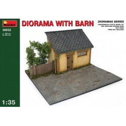 MINIART36032 Diorama with Barn 1/35