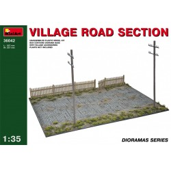 MINIART36042 Village Road Section 1/35