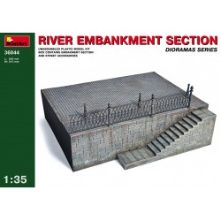 MINIART36044 River Embankment Sect. 1/35