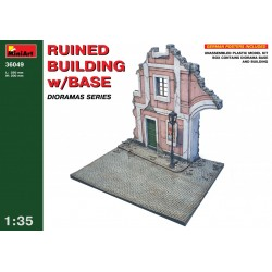 MINIART36049 Ruined Building + Base 1/35