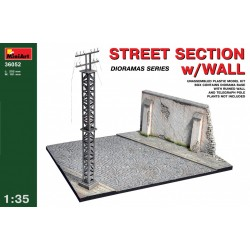 MINIART36052 Street section with wall 1/35