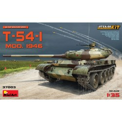 MINIART37003 T-54-1 Sov.Med.Tank Inter.Kit 1/35