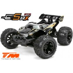 TM510003O Auto - 1/10 Racing Monster Electrique - 4WD - RTR - Brushless - Etanche - Team Magic E5 HX – Noire/Orange
