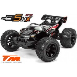 TM510003R Auto - 1/10 Racing Monster Electrique - 4WD - RTR - Brushless - Etanche - Team Magic E5 HX – Noir/Rouge