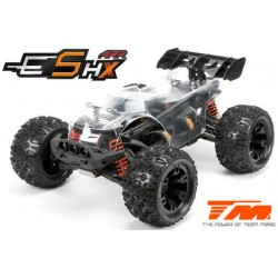 TM510004 Auto - 1/10 Racing Monster Electrique - 4WD - ARR - Team Magic E5 HX avec Pièces option