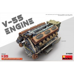 MINIART37025 V-55 Engine 1/35