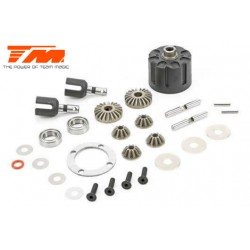 TM510101 Spare Part - E5 - Complete Differential Kit (F/R)