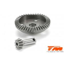 TM510102S Option Part - E5 - Machined Bevel Gear – 43T/11T