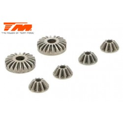 TM510106 Spare Part - E5 - Differential Bevel Gear Set (for 1 diff)
