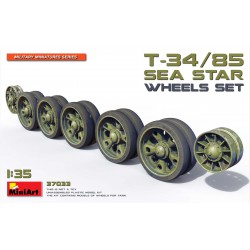 MINIART37033 T-34-85 Sea Star Wheels Set 1/35
