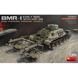 MINIART37034 BMR-1 Early Mod. With KMT-5M 1/35