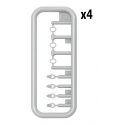 "PL10152-14 Pneus - 1/10 Crawler - 1.9"" - Class 1 BFGoodrich® Mud-terrain T/A KM3 G8 (2 pces)"