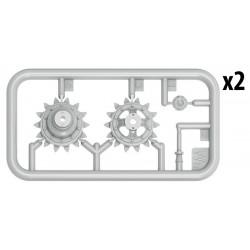 """PL2769-13 Jantes - 1/10 Crawler - 1.9"""" - Impulse - Bead-Loc - Noir/Silver (2 pces)"""