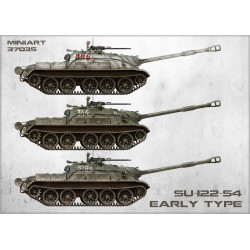 MINIART37035 Soviet Tank SU-122-54 Early 1/35