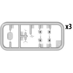 """PL8276-104 Pneus - 1/10 Truck - 2.2"""" - Pyramide T Z4 (soft carpet) (2 pces)"""