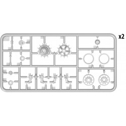 """PL9052-203 Pneus - 1/8 Buggy - Fugitive VTR 4.0"""" S3 (soft) (2 pces)"""