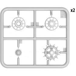 PL9061-203 Pneus - 1/8 Buggy - Positron S3 (soft) (2 pces)