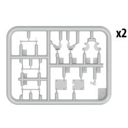PL9066-02 Pneus - 1/8 Buggy - Invader M3 (soft) (2 pces)