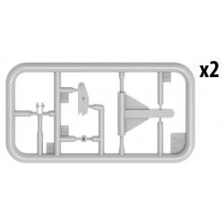 RXR1003-B Pneus - 1/10 Short Course - montés - Jantes noires - 12mm Hex - Rhythm (2 pces)