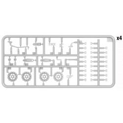 RXR3003-B2 Pneus - 1/10 Monster Truck - montés - 1/2 offset - Jantes noires - 12mm Hex - Rhythm (2 pces)