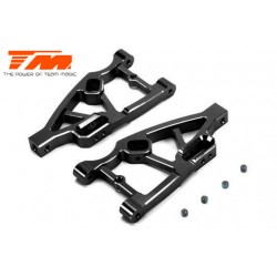 TM510132BK Option Part - E5 - CNC Machined Aluminum Lower Arm - Black (2 pcs)