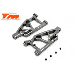 TM510132TI Option Part - E5 - CNC Machined Aluminum Lower Arm - Tinanium (2 pcs)