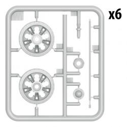 PRO28006 PROXXON Disque microfibre 100 mm PM 100