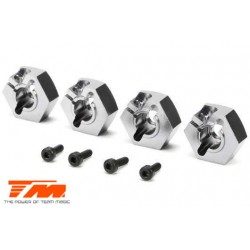 TM510135TI Option Part - E5 - Clamp Type Wheel Hexes 14mm - Titanium (4 pcs)
