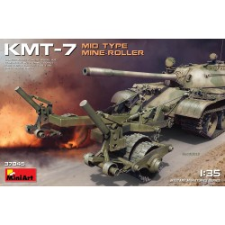 MINIART37045 KMT-7 Mid Type Mine-Roller 1/35