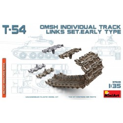 MINIART37046 T-54 OMSh Ind.Track Links Set 1/35